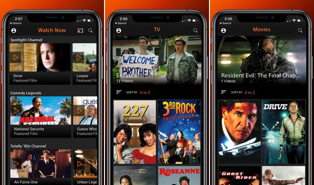 Crackle - Application pour regarder des films
