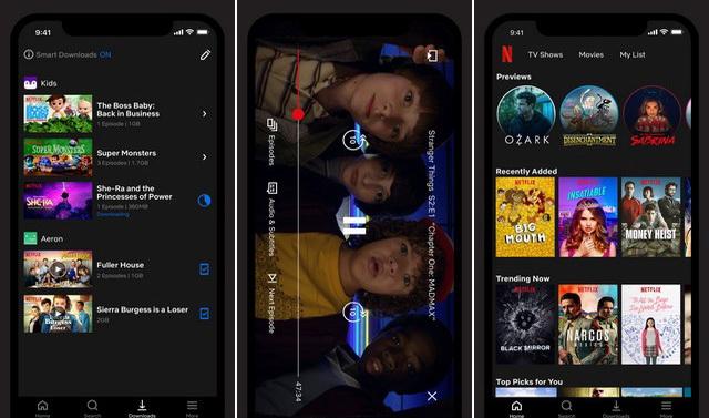 Netflix - Application pour regarder des films