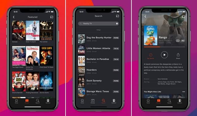 Tubi - Application pour regarder des films