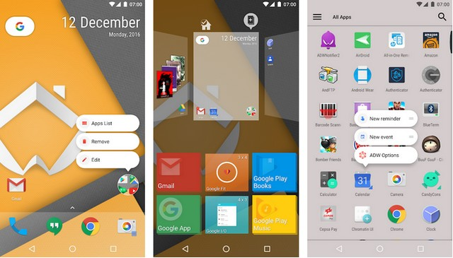 ADW Launcher 2 - Meilleur launcher Android