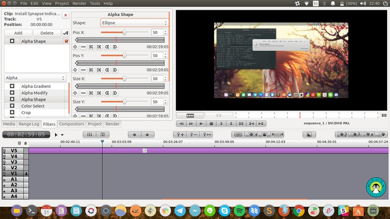 Flowblade Movie Editor