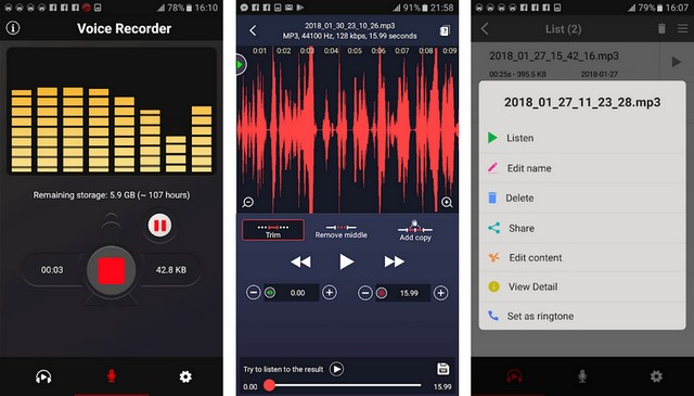 Voice Recorder 2018