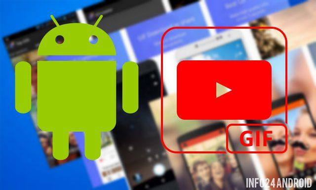 meilleures applications pour créer des GIF sur Android