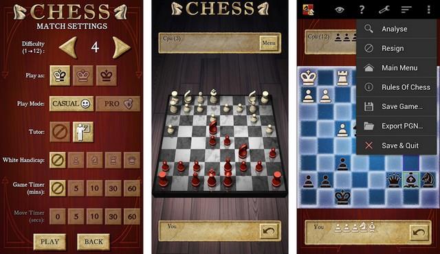 Échecs - meilleurs jeux d'échecs