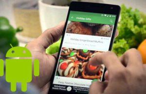 Les meilleures applications de cuisine pour Android