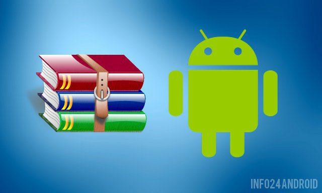 Les meilleures applications zip, rar et unzip pour Android