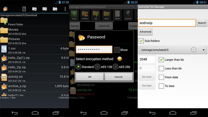 Les fichiers compressés ne sont plus un secret sur Android