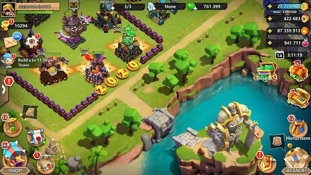 Clash of Lords - jeu comme Clash of Clans