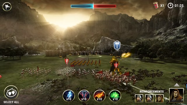 Dawn of Titans - jeu comme Clash of Clans