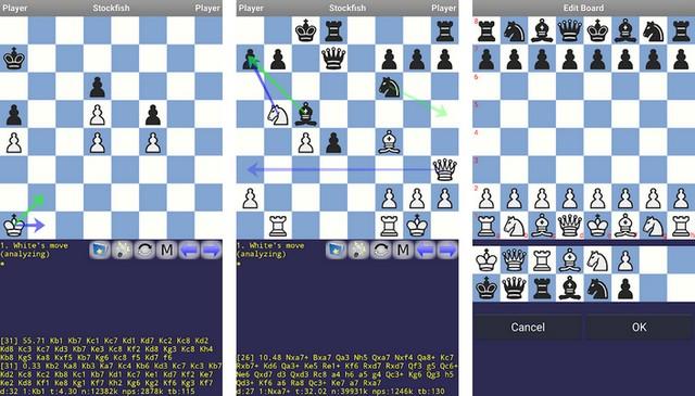 DroidFish Chess - meilleurs jeux d'échecs