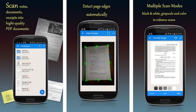 Fast Scanner - application de numérisation de documents