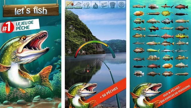 Let's Fish - Jeux de Pêche