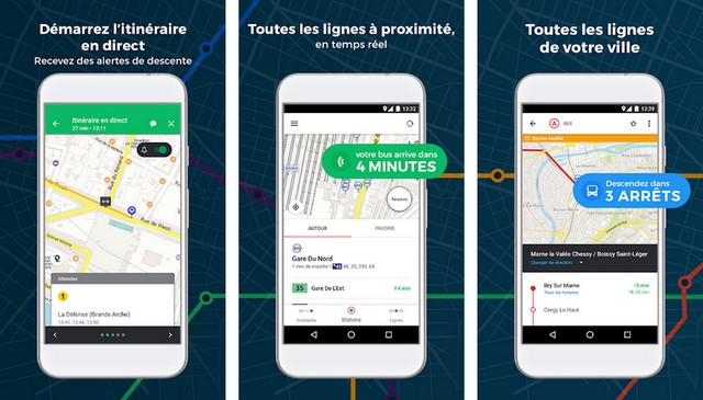 Moovit - Application de transports en commun