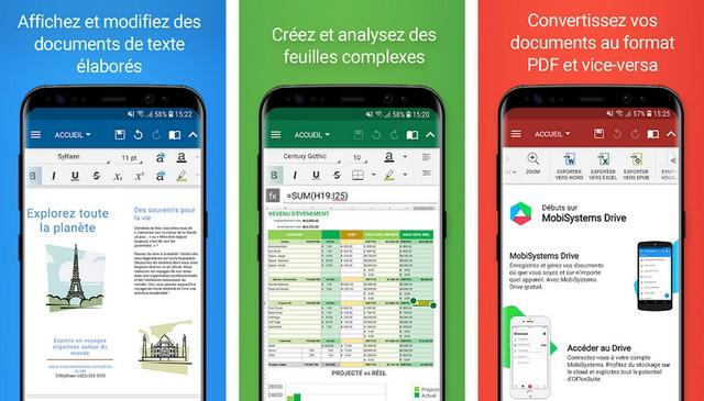 OfficeSuite - applications de bureautique