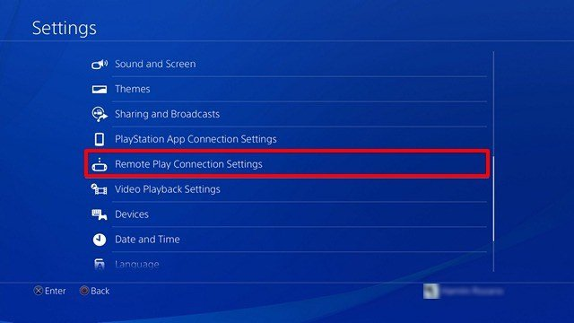 The Media Server Connection lets other devices connect to your PS3.