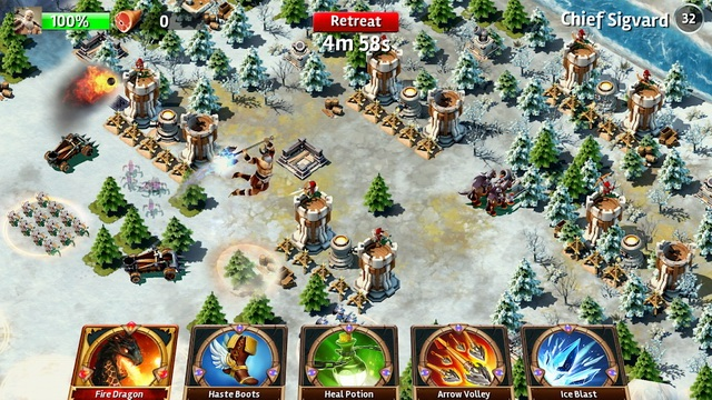 Siegefall - jeu comme Clash of Clans
