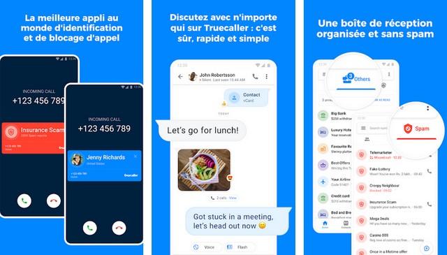 Truecaller - application pour bloquer les appels sur Android