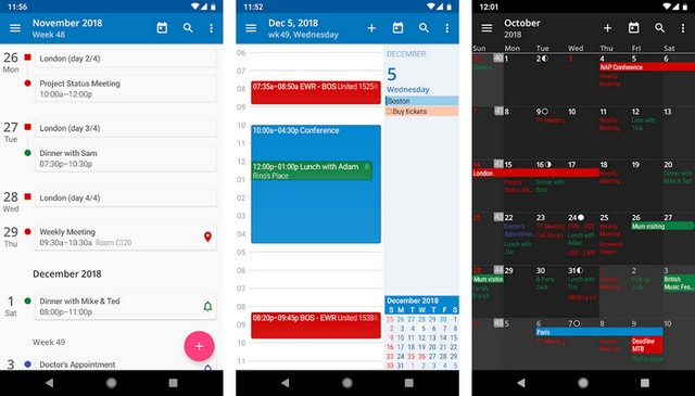 Calendrier Outlook Sur Android.10 Meilleures Applications Agenda Pour Android Info24android