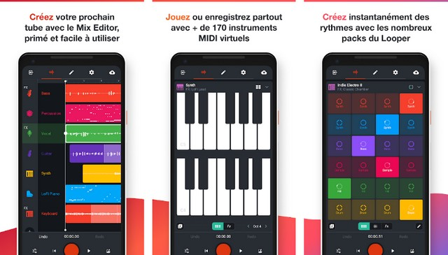 BandLab - application Android pour les artistes