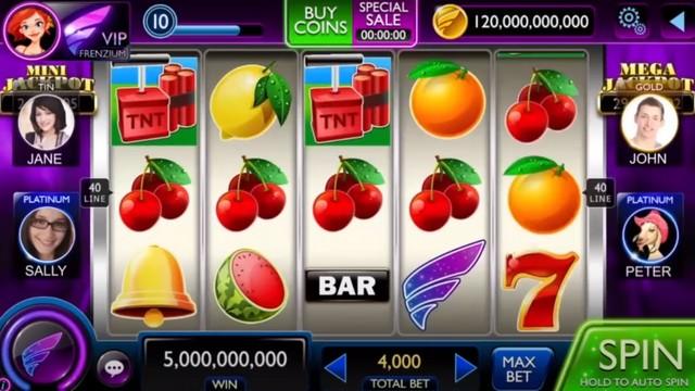 Casino Frenzy - meilleure jeu de casino sur Android