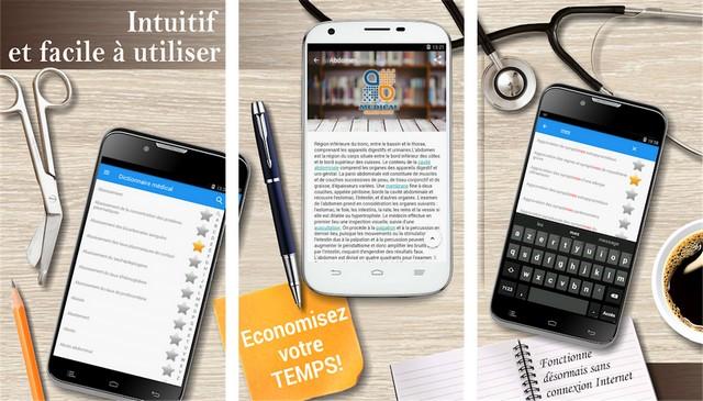 Dictionnaire médical - meilleur application médicales sur Android