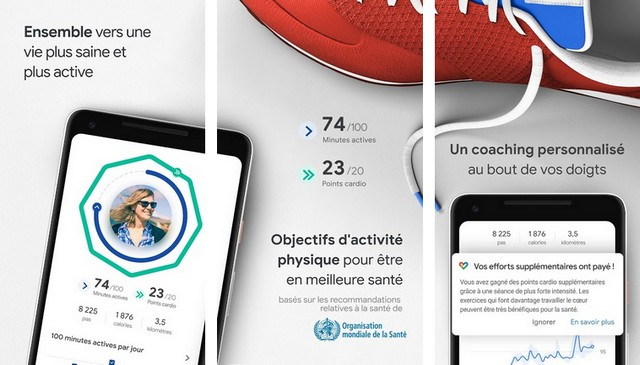 Google Fit - Application de santé