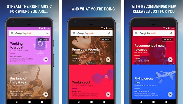 Google Play Musique - applications pour Android TV