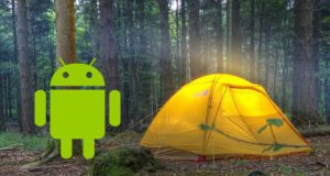 Les meilleures applications Android pour le camping