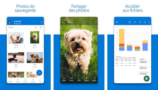 Microsoft OneDrive - application de stockage en nuage