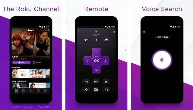 Roku - Application de télécommande