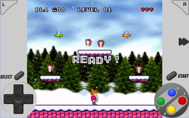 SuperRetro16 - émulateur de Super Nintendo