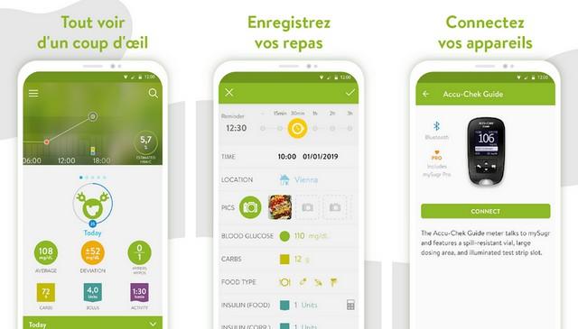 mySugr - meilleur application médicales sur Android