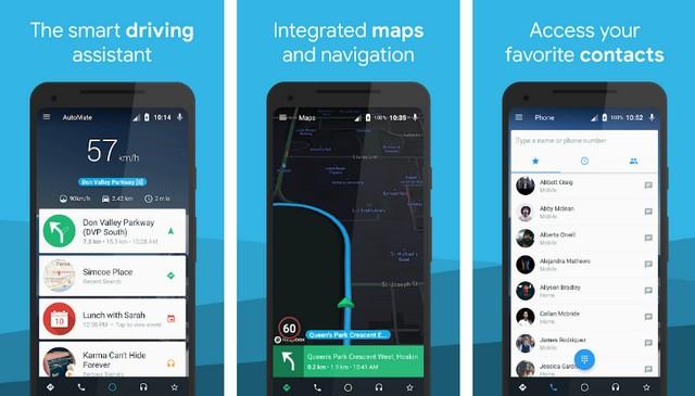 AutoMate - meilleure application de conduite