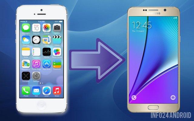 Comment Faire Pour Transferer Des Contacts De Samsung Vers Iphone
