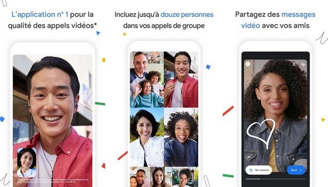 Google Duo - alternative à FaceTime