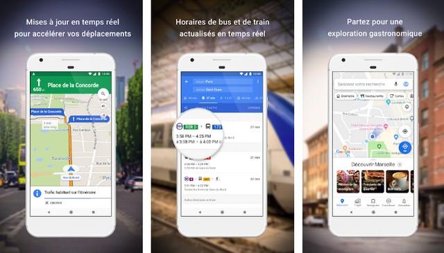 Google Maps - meilleure application de conduite