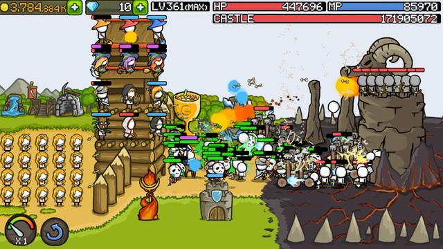 Grow Castle - Jeu de tower defense