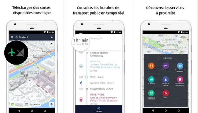 application gps pour android hors ligne