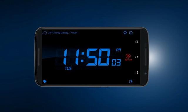 les meilleures applications horloge num rique sur android info24android. Black Bedroom Furniture Sets. Home Design Ideas
