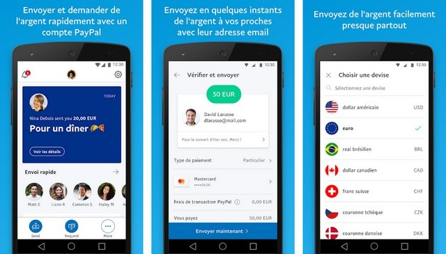PayPal - applications pour gagner de l'argent