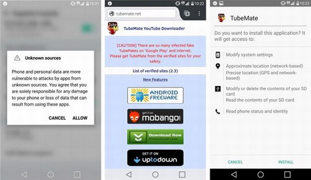 telecharger application youtube android