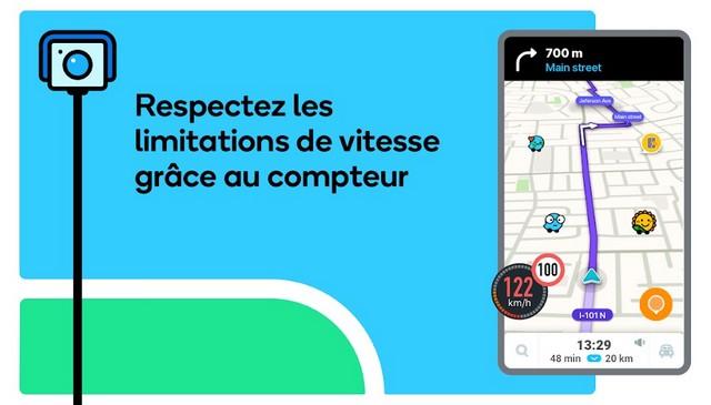 Waze - meilleure application de conduite