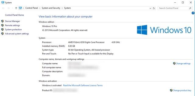 Comment trouver votre cl de produit windows 10 - Activer bureau a distance windows 8 ...