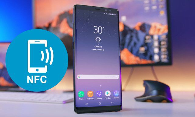 Comment activer NFC sur Samsung Galaxy Note 8 | Info24android