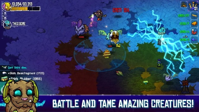 Crashlands - jeu Sandbox