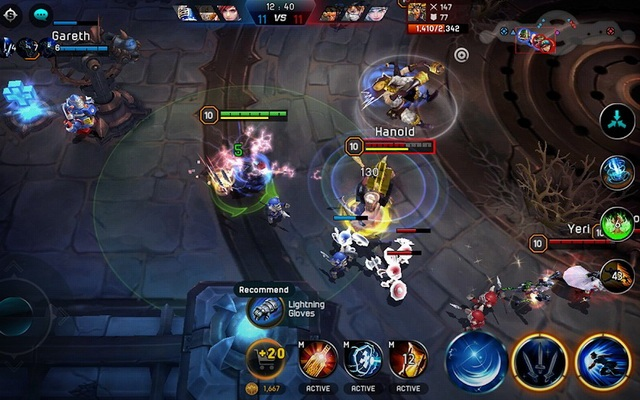 Iron League - jeu MOBA sur Android
