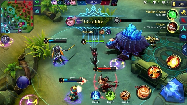 Mobile Legends - jeu MOBA sur Android