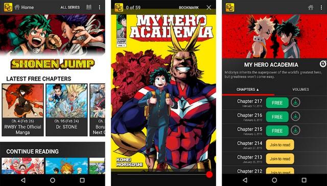 Shonen Jump Manga & Comics