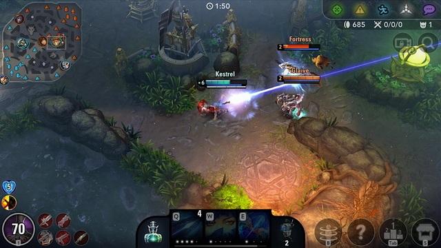 Vainglory - jeu MOBA sur Android