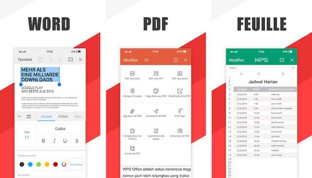 WPS Office - application de lecteur PDF